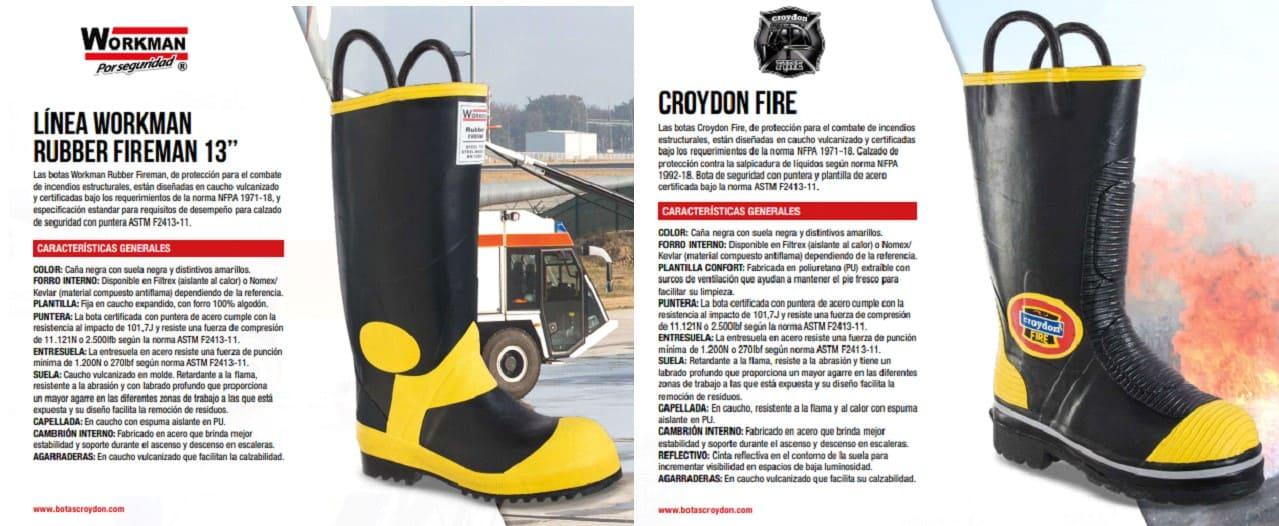Tipos de botas de seguridad: usos y características